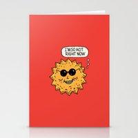 Hot Sun Stationery Cards