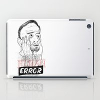 enjoy human error iPad Case