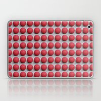 Round and Red 2 Laptop & iPad Skin