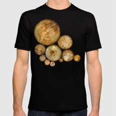 Wood Wood 1 Black SMALL Mens Fitted Tee