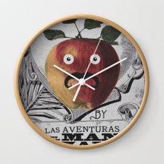 mr manzana Wall Clock