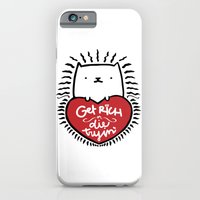 Get Rich or Die Tryin' - a cat's perspective iPhone 6 Slim Case