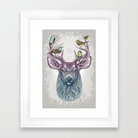 Magic Buck Framed Art Print