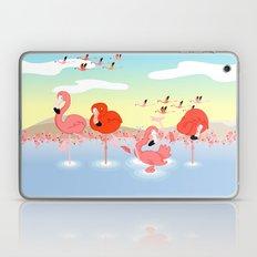 flamingos Laptop & iPad Skin