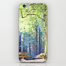 Picnic in the Woods iPhone & iPod Skin