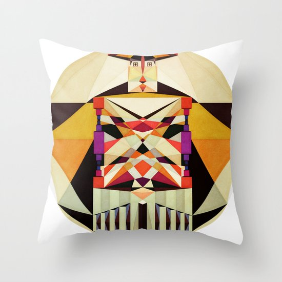 The Love Inside Throw Pillow