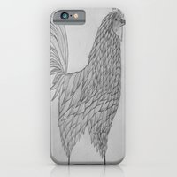 iPhone & iPod Case featuring Rooster by rachellam