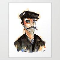 Greek Fisherman Art Print