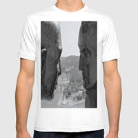 Washington & Guyasuta Mens Fitted Tee White SMALL