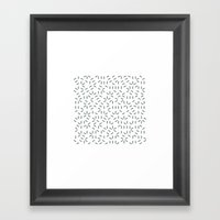 #437 Aether – Geometry… Framed Art Print