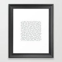 #437 Aether – Geometry… Framed Art Print