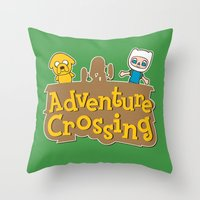 Adventure Crossing Throw Pillow