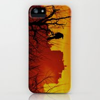 iPhone Cases featuring Raven's sunrise by Pirmin Nohr