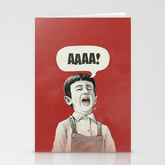 AAAA! Stationery Card