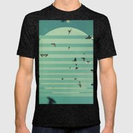 Fractions 02 Mens Fitted Tee Tri-Black SMALL