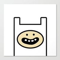 Finn The Human Canvas Print