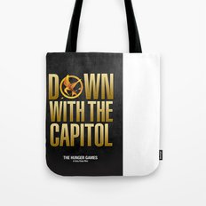 Hunger Games - Down With the Capitol Tote Bag