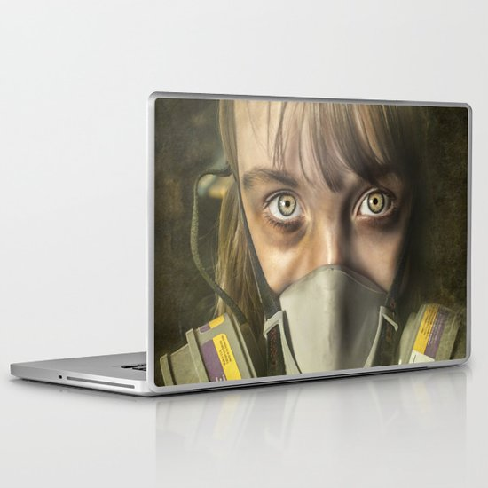 The day after ~ Survivor (treated version) Laptop & iPad Skin