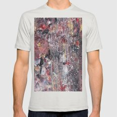 Untitled Mens Fitted Tee Silver SMALL