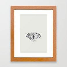 Diamond Framed Art Print