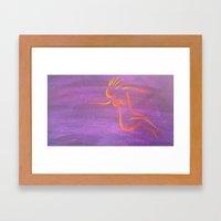 Moon Goddess II Framed Art Print