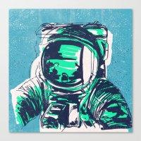 OrbitalFleets Crew Series: No.1 Canvas Print