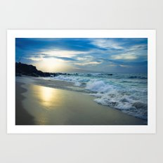 One Dream Sunset Hookipa Beach Maui Hawaii Art Print
