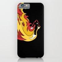 iPhone & iPod Case featuring Iron in Flight by WanderingBert / David Creighton-Pester