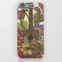 iPhone & iPod Case featuring Ever Guitar by Valentina Harper