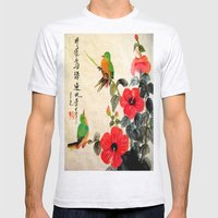 courting season Mens Fitted Tee Ash Grey SMALL