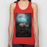 Power Is No Blessing In Itself v.2 (Protect the Rhino)  Unisex Tank Top
