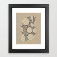 Kraft Konstruction Framed Art Print