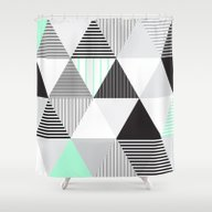 Shower Curtain featuring Drieh by Paola Fischer