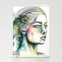 Daenerys Stationery Cards