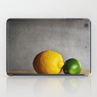 Lemon and Lime iPad Case