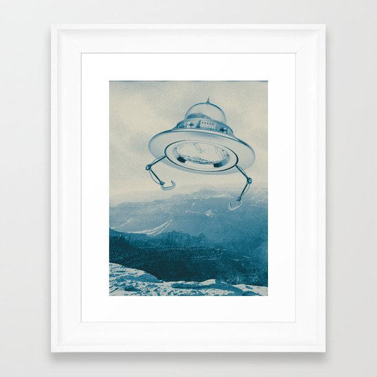 UFO III Framed Art Print