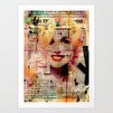Portrait No 2  Art Print