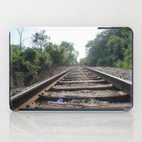Down The Tracks (1) iPad Case