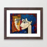 Jacqueline Framed Art Print