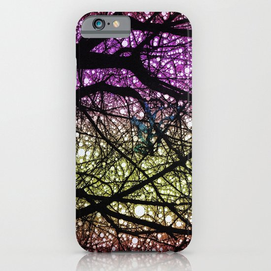 Ribbon in a Tree-Colourful Version iPhone & iPod Case