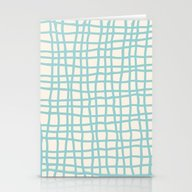 Blue Scribbles 06 Stationery Cards