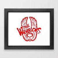 The Warriors  Framed Art Print