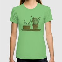 I think I see you Womens Fitted Tee Grass SMALL