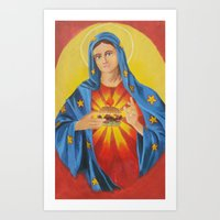 Our Lady Of The 6 Dollar… Art Print