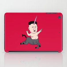 Kim Jong Unicorn iPad Case