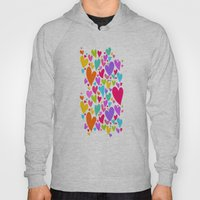 Cute colorful heart Hoody