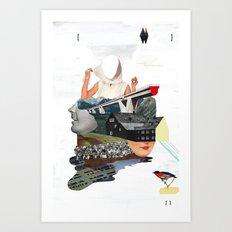 Solid things 7 Art Print