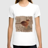 Nuts with honey Womens Fitted Tee White SMALL