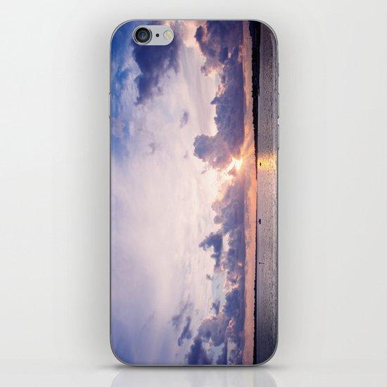 Purple Sunset iPhone & iPod Skin