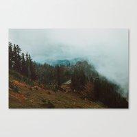 Park Butte Lookout - Was… Canvas Print